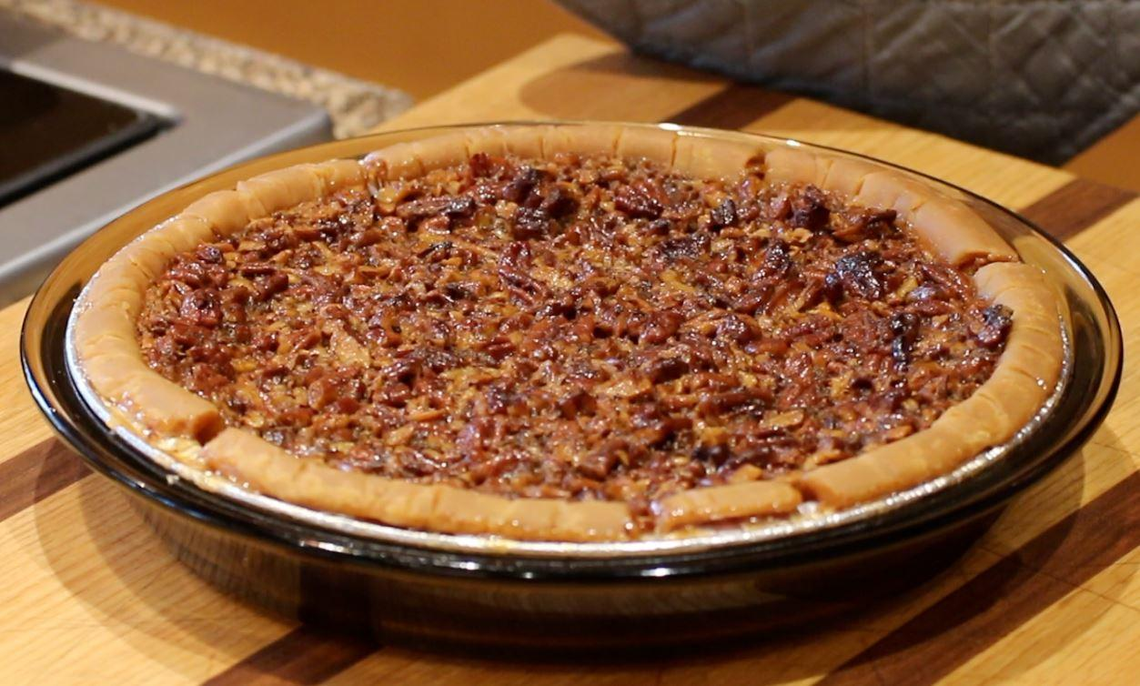 Pecan Pie on a table