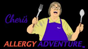 Cheri's Allergy Adventure logo landscape 72ppi